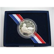 США 1/2 доллара 1993 Мэдисон Биль о правах Серебро