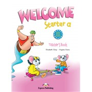welcome starter a teacher's book - книга для учителя (with posters)