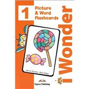 i-Wonder 1. Picture & Word Flashcards (international). Наглядный материал для отработки лексики