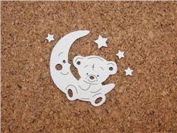 Мишка с луной