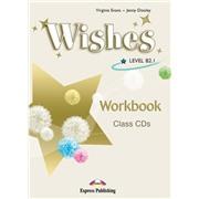 wishes b2.1 workbook class cd - диски для занятий в классе(set 4)