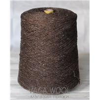 Пряжа Твид-мохер Грецкий орех 2603, 110м/50гр. Knoll Yarns, Mohair Tweed, Walnut