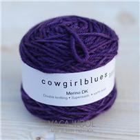 Пряжа Merino DK solid Фиолет, 100м/50г., Cowgirlblues, Violet