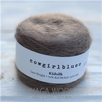 Пряжа Kidsilk solid Какао, 225м/25г, Cowgirlblues, Cocoa