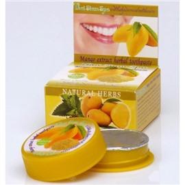 Тайская зубная паста с экстрактом манго