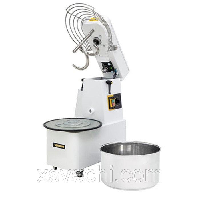 Тестомес Gemlux GHSR 5, до 29 кг/ч, объем дежи 7 л, таймер