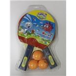 Набор для настольного тенниса Смешарики (2 ракетки+3 шара)  SMTT102