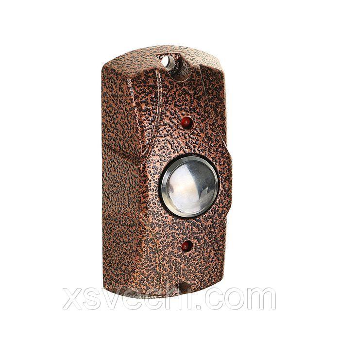 Кнопка выход Falcon Eye FE-100 Медь, антивандальная