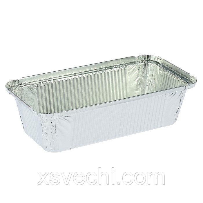 Контейнер алюминиевый 900 мл, 21,7х11,2х5,4 см