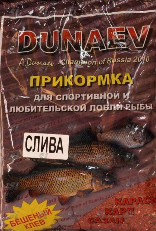 производство прикормок dunaev
