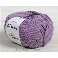 Пряжа Gepard Garn Athena шёлк 610 Розово-сиреневый пыльный