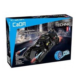 Cada Technics Конструктор Cada Technics бэтмобиль с инерционным механизмом, 212 деталей - C52005W