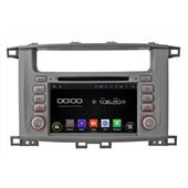 Штатная магнитола Incar AHR-2260 для Toyota LC 100  Android 4.4.4/1024*600,wi-fi