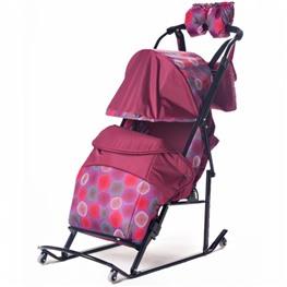 Санки-коляска Kristy Comfort Plus 3В + ВК