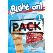 Right on! 1. Workbook Student's Book (with Digibook app) (international). Рабочая тетрадь (с ссылкой на электронное приложение)