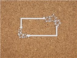 Рамка со звездочками