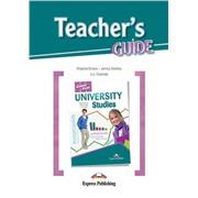 University Studies (Teacher's Guide) - методическое руководство для учителя