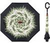 Зонт-наоборот антизонт с кнопкой Одуванчик