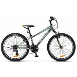 """Велосипед Stels Navigator 24"""" 400 V V020/V021 Серый/Зеленый, интернет-магазин Sportcoast.ru"""