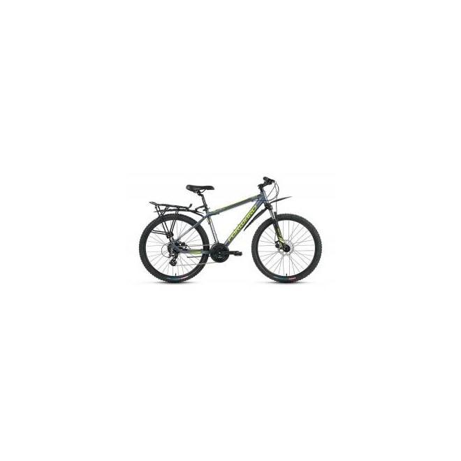 Велосипед Forward Yukon 2.0 Disc 26 (2017) Серый Матовый, интернет-магазин Sportcoast.ru