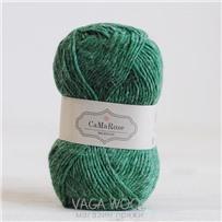 Пряжа Lamauld Тёмно-зелёный 6060, 100м/50г, CaMaRose, Morkgron