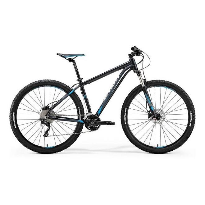 Велосипед Merida Big Nine 80-D Matt Dark Blue (Blue/White) 2018, интернет-магазин Sportcoast.ru
