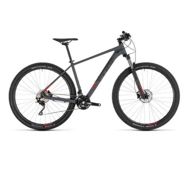 Велосипед CUBE ATTENTION 29 (iridium'n'red) 2019, интернет-магазин Sportcoast.ru