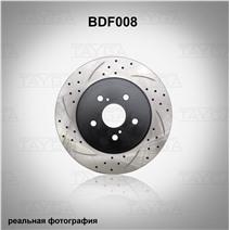 BDF008. Передняя ось. Перфорация + слоты