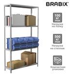 Стеллаж металлический Brabix MS KD-185/40-4 (S240BR144402)
