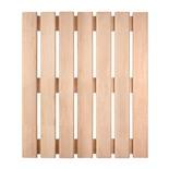 Решетка на пол для бани и сауны Банные Штучки ольха 60х70 см 33254