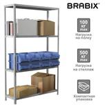 Стеллаж металлический Brabix MS KD-185/50-4 (S240BR145402)