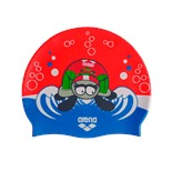 Шапочка для плавания AWT MULTI JR maggie/orange, силикон, 91925 44