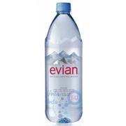 Evian 1л упаковка минеральной воды - 6 шт.