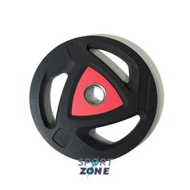 Диск олимпийский 15 кг ZIVA серии ZVO уретановое покрытие