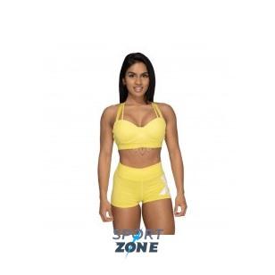 Спортивный топ Better Bodies Waverly Sports Bra, лимонный желтый
