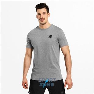 Мужская футболка Better Bodies Essential Tee, серый меланж