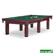 Weekend Бильярдный стол для пула «Texas» 9 ф (махагон) ЛДСП, интернет-магазин товаров для бильярда Play-billiard.ru