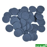 Atlas Фибра упаковка 50 шт. (синяя, 1 мм, н/д 14мм), интернет-магазин товаров для бильярда Play-billiard.ru