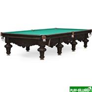 Weekend Бильярдный стол для русского бильярда «Rococo» 12 ф (черный орех), интернет-магазин товаров для бильярда Play-billiard.ru