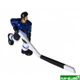 """Хоккеист №28, длинная клюшка """"Alaska"""" (синий), интернет-магазин товаров для бильярда Play-billiard.ru"""