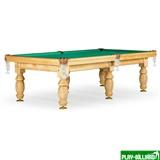 Weekend Бильярдный стол для пула «Дебют» 9 ф (светлый) ЛДСП, интернет-магазин товаров для бильярда Play-billiard.ru