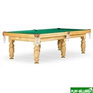 Weekend Бильярдный стол для пула «Дебют» 9 ф (светлый) ЛДСП, интернет-магазин товаров для бильярда Play-billiard.ru. Фото 1