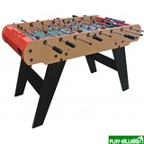 Weekend Настольный футбол (кикер) «Toledo» (121x61x79 см, коричневый), интернет-магазин товаров для бильярда Play-billiard.ru