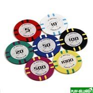 Набор для покера Le Royale на 500 фишек, интернет-магазин товаров для бильярда Play-billiard.ru. Фото 8