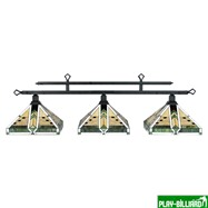 "Лампа на три плафона ""Taliesin"", интернет-магазин товаров для бильярда Play-billiard.ru"