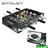 """Настольный футбол (кикер) """"Riley"""" (46х30х10 см, черный), интернет-магазин товаров для бильярда Play-billiard.ru"""