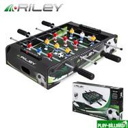 Riley Настольный футбол (кикер) «Riley» (46х30х10 см, черный), интернет-магазин товаров для бильярда Play-billiard.ru. Фото 1