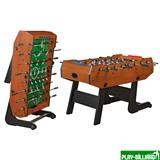 Weekend Настольный футбол (кикер) «Maccabi» (140x75x89, орех, складной), интернет-магазин товаров для бильярда Play-billiard.ru