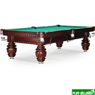 Weekend Бильярдный стол для русского бильярда «Turnus II» 9 ф (махагон), интернет-магазин товаров для бильярда Play-billiard.ru