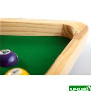 """Часы настенные """"Треугольник"""" (дуб) 40 см х 35 см, деревянные, интернет-магазин товаров для бильярда Play-billiard.ru. Фото 6"""